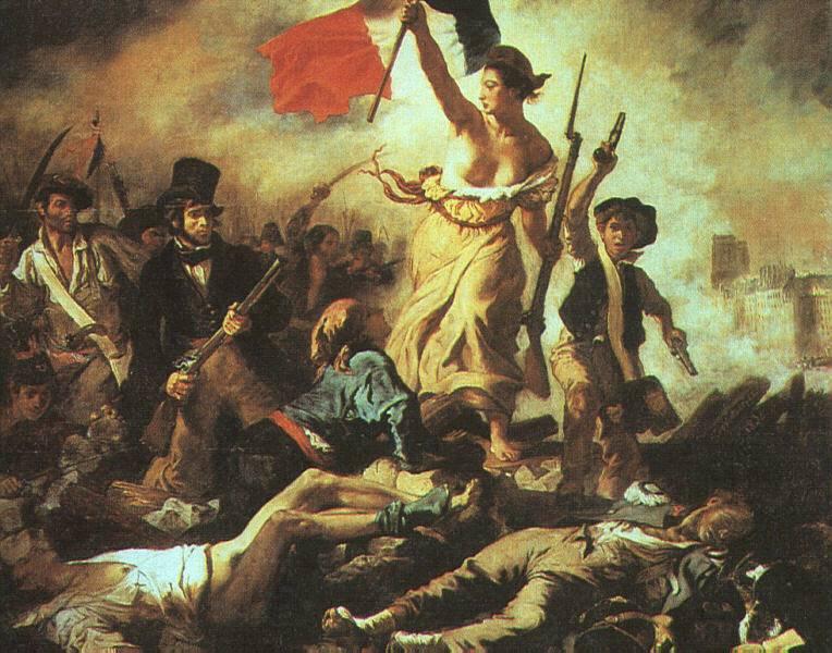 Marianne et Delacroix