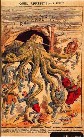 La pieuvre maçonnique