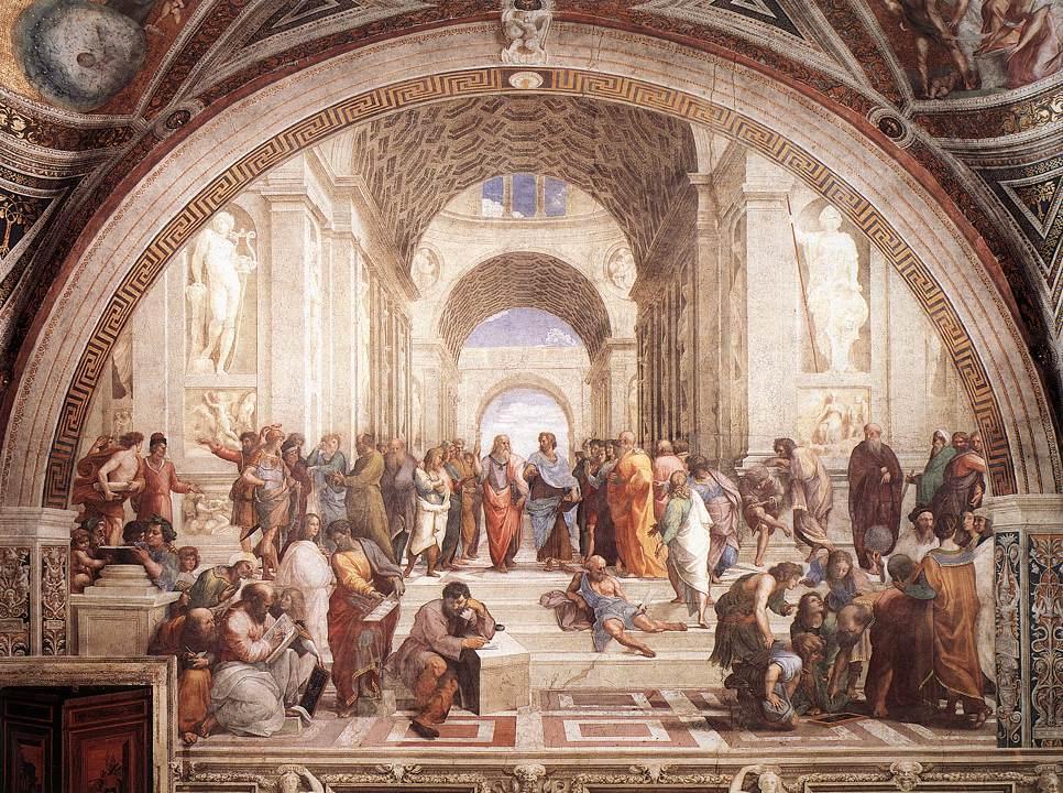 Raphaël, l'Ecole d'Athènes
