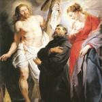 Rubens, Saint Augustin, entre le Saint Christ et la Sainte Marie