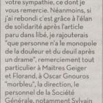 Vincent Stasi, Liberation, jeudi 2 décembre 2010