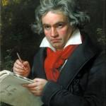 Stieler, Joseph Karl: Beethoven mit der Missa solemnis