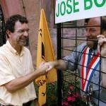 Henri Stoll emprisonné en solidarité pour José Bové