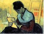 La lectrice de roman, Van Gogh, 1888
